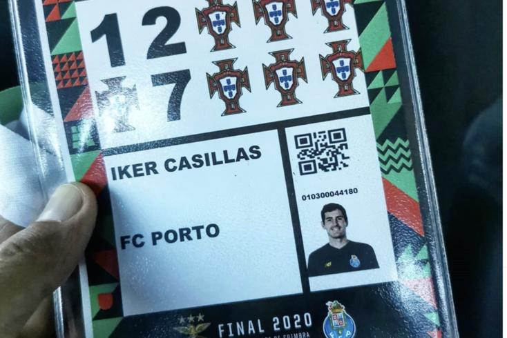 A publicação de Casillas antes da final da Taça de Portugal