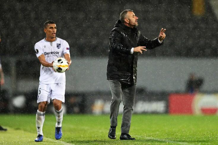 Ivo Vieira, treinador do Vitória