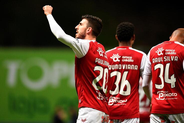 Paulinho marcou o golo da vitória