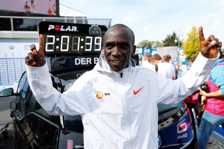 Kipchoge quer fazer maratona em menos de duas horas