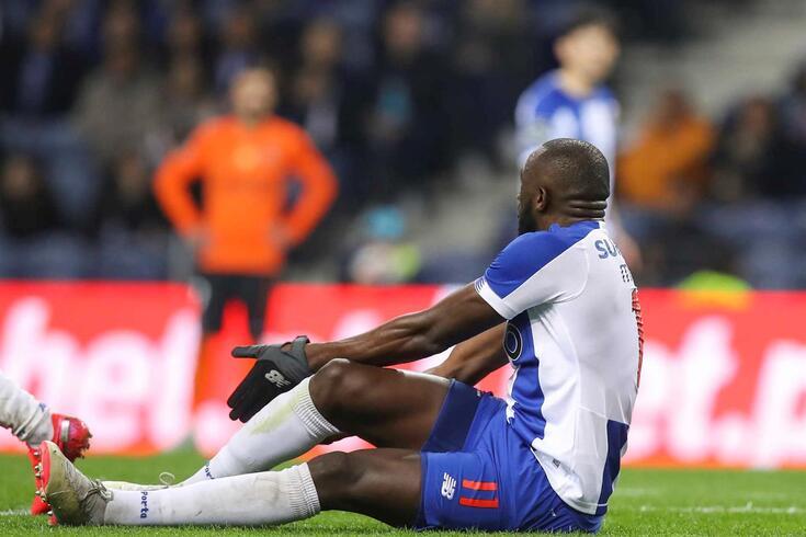 Marega foi protagonista de um lance polémico no FC Porto-Rio Ave