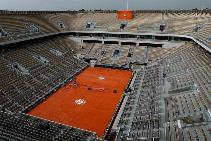 Roland Garros com plateia limitada a 60% da sua capacidade