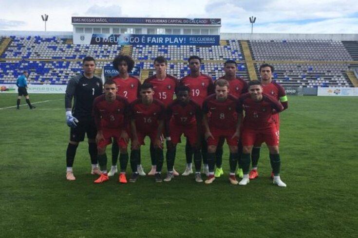 Seleção portuguesa de sub-18 venceu o México