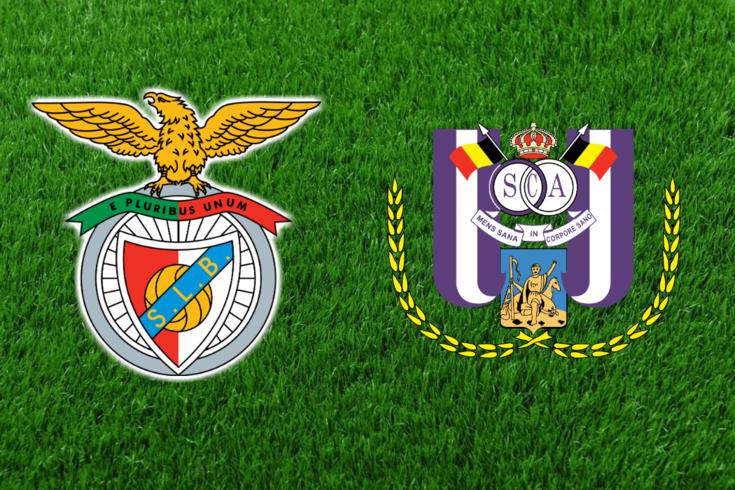 DIRETO | Benfica-Anderlecht