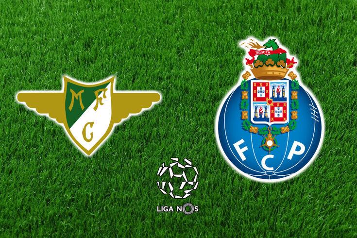 DIRETO | Moreirense-FC Porto