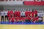 A seleção portuguesa de andebol na Roménia