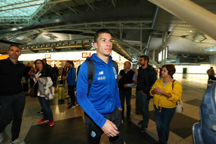 Matheus Uribe, médio do FC Porto.