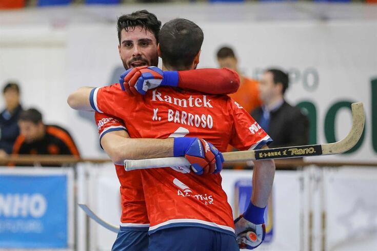 Oliveirense isolou-se na liderança do campeonato de hóquei em patins