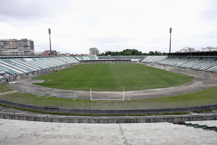 Estádio do Bonfim, em Setúbal