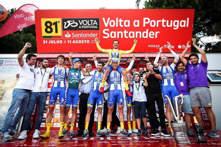 João Rodrigues venceu a última Volta a Portugal pela W52-FC Porto