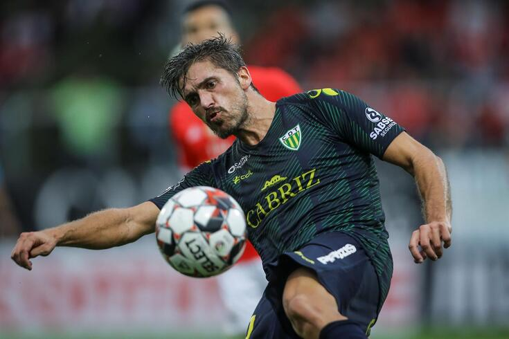 Filipe Ferreira disputou 969 minutos com a camisola do Tondela