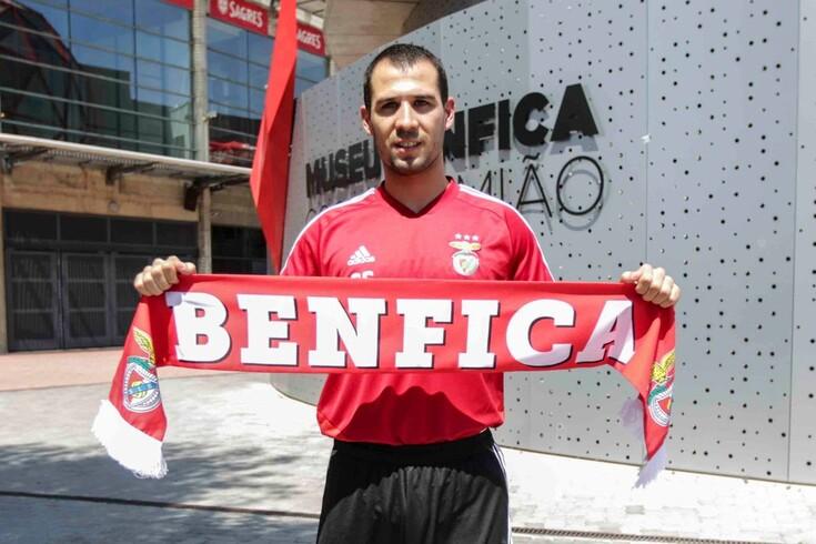 Sergi Aragonès já se sente benfiquista