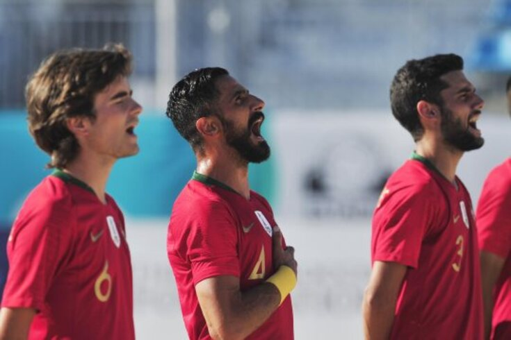 Portugal tenta revalidar o título de campeão europeu de futebol de praia