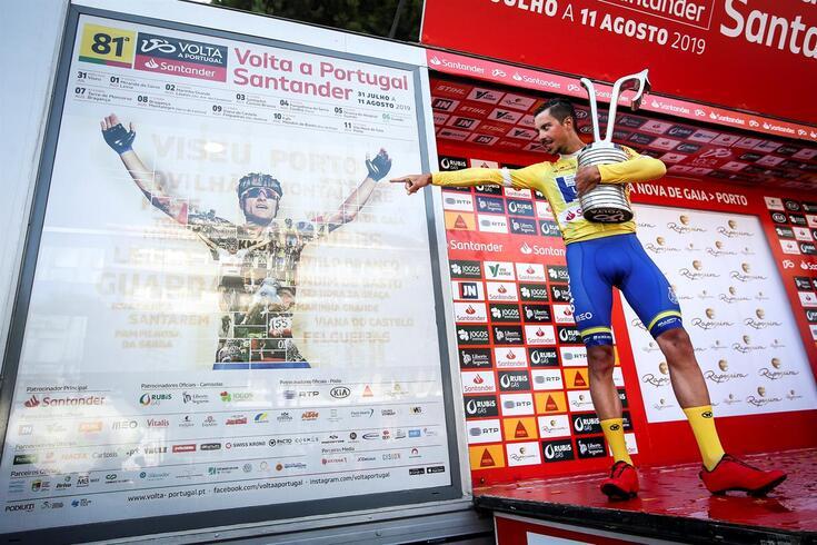 João Rodrigues tem 25 anos e ganhou a Volta deste ano