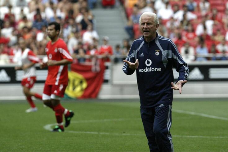 Trapattoni foi treinador do Benfica em 2004/05. Sagrou-se campeão português