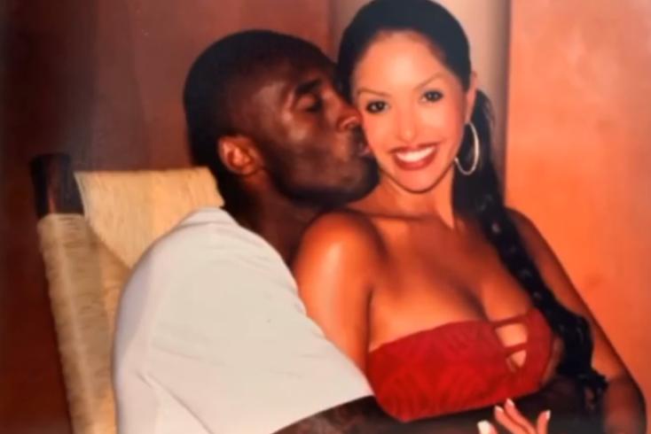 A emocionada mensagem da mulher de Kobe Bryant no Dia dos Namorados