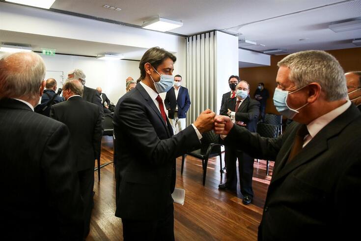 Rui Costa é vice-presidente na lista de Vieira