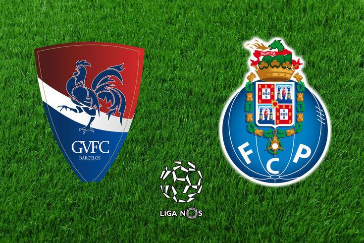 DIRETO | Gil Vicente-FC Porto: gilistas surpreendem dragão
