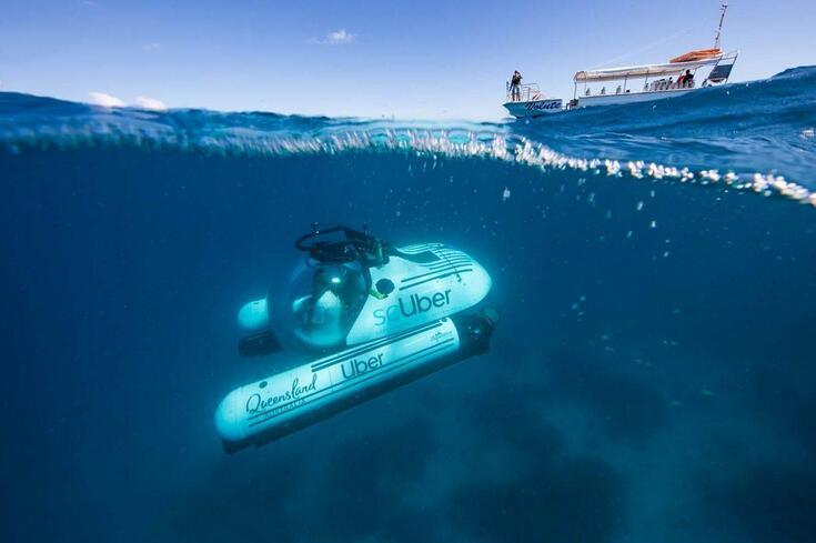 Já nasceu o primeiro Uber submarino