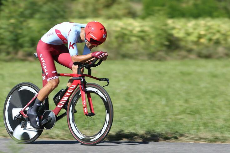 Ciclista português Rúben Guerreiro