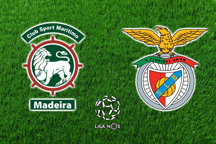 DIRETO | Marítimo-Benfica