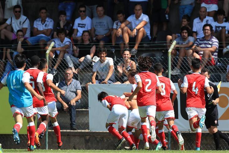 Braga venceu em Guimarães por 3-2.