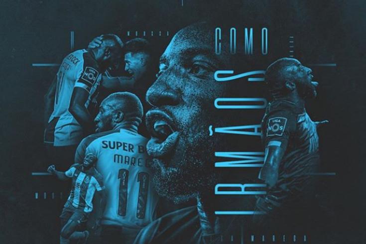 """""""Como irmãos"""": a imagem publicada pelo FC Porto antes do jogo com Portimonense"""