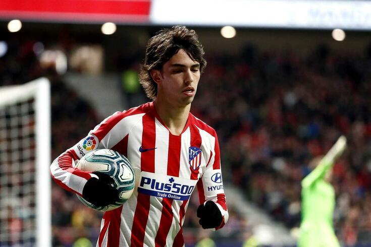João Félix representa agora o Atlético de Madrid