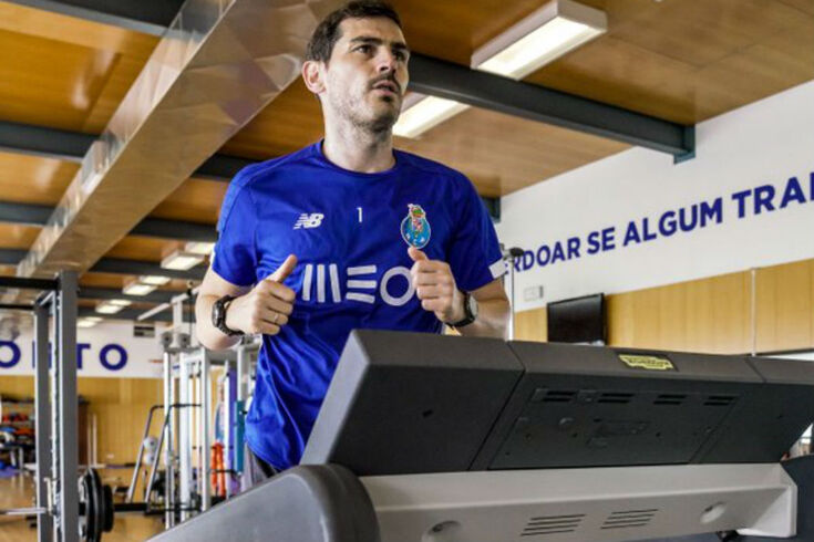 Casillas está longe dos relvados desde o dia 1 de maio