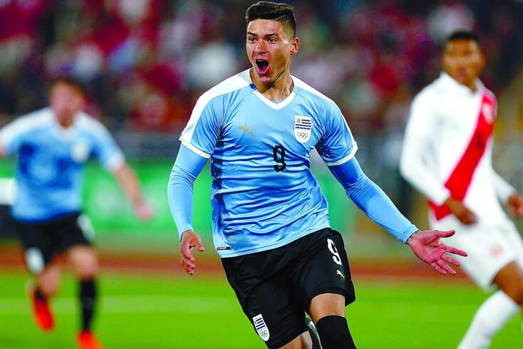 Darwin Núñez já é internacional uruguaio