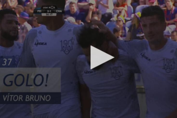Feirense-Chaves: Vítor Bruno fez a reviravolta no marcador