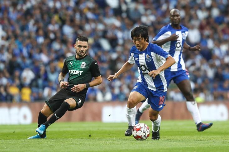 Shoya Nakajima vai falhar o clássico Benfica-FC Porto