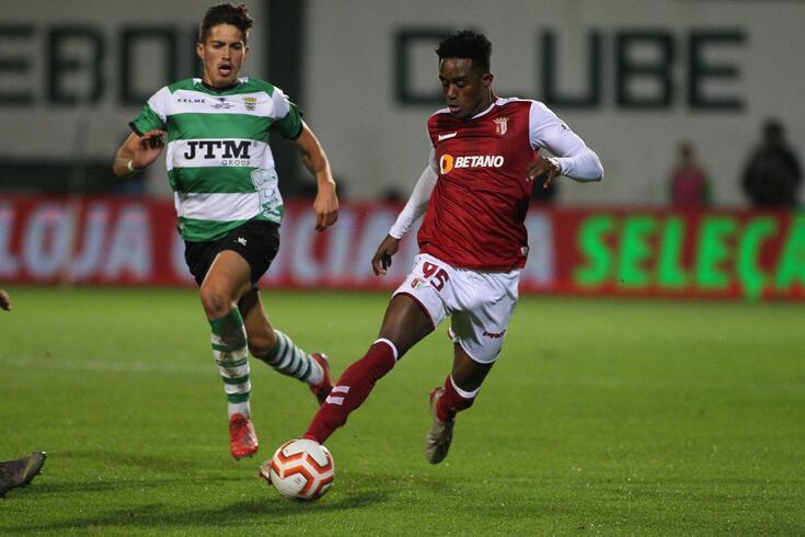 Cajú fez apenas cinco jogos pelo Braga
