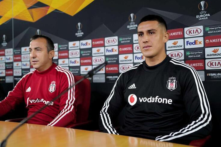 Besiktas defronta o Braga na quinta-feira