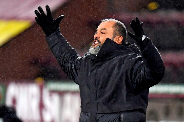 Nuno Espirito Santo, treinador do Wolverhampton