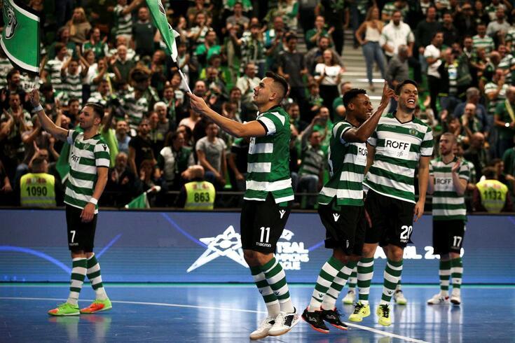Sporting é campeão europeu em título de futsal