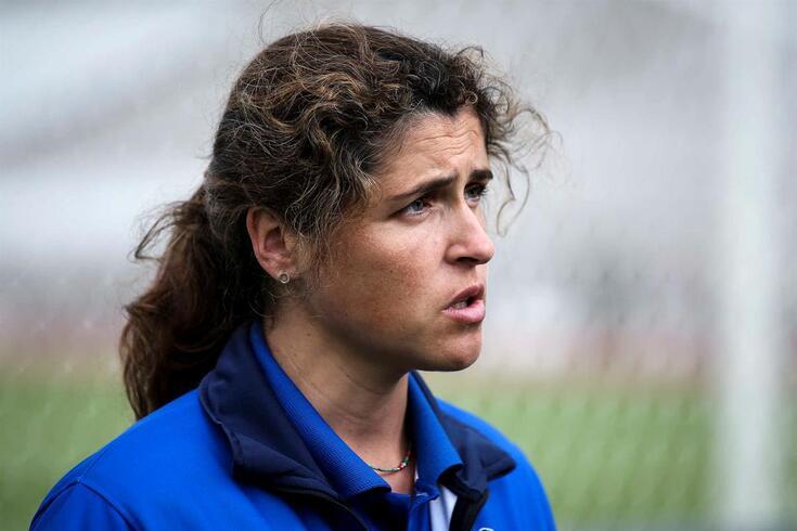 Mara Vieira, treinadora do Valadares Gaia