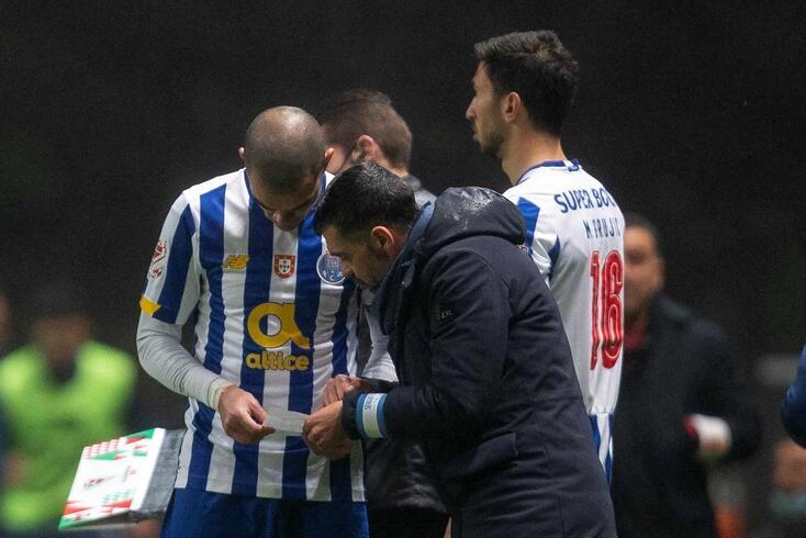 Pepe com Sérgio Conceição