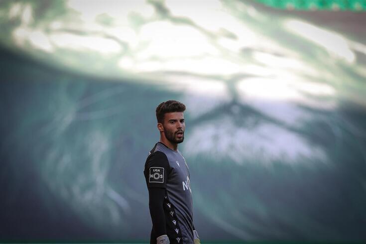Maximiano assumiu-se como titular na baliza do Sporting