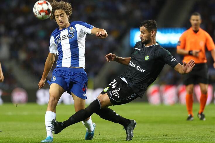 Fábio Silva estreou-se no Dragão em jogos oficiais