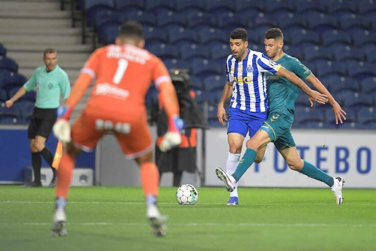 Taremi estreou-se em jogos oficiais pelo FC Porto