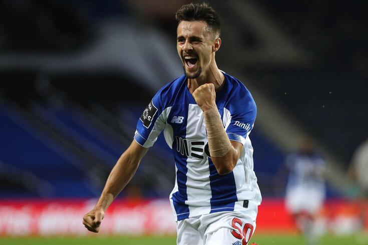 Fábio Vieira foi aposta de Sérgio Conceição na reta final do campeonato