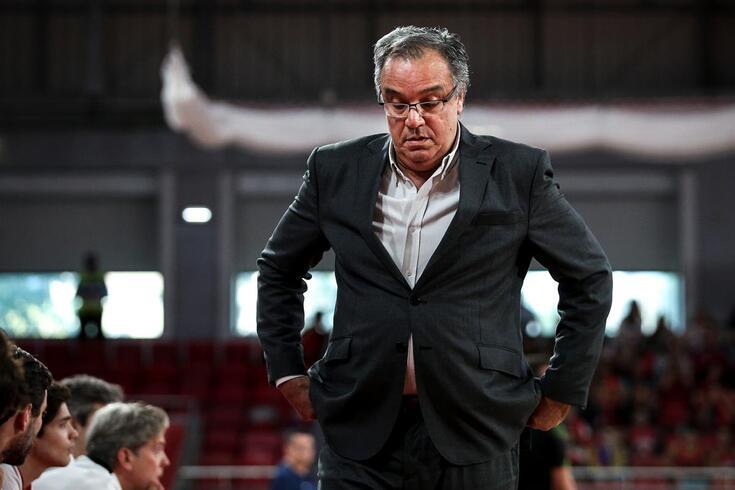 Carlos Lisboa, treinador de basquetebol do Benfica