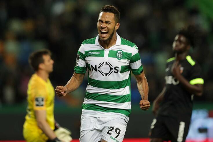 Luiz Phellype tem estado em alta no bom momento do Sporting