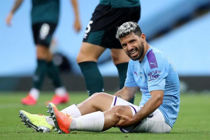 Sergio Aguero, avançado do Manchester City