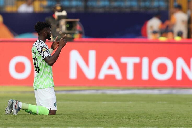 Chidozie, na CAN pela Nigéria