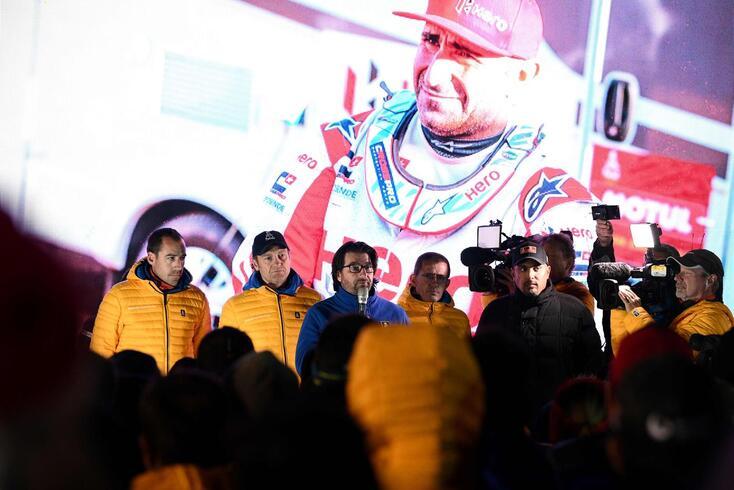 O português Paulo Gonçalves faleceu no domingo, na sétima etapa do Dakar