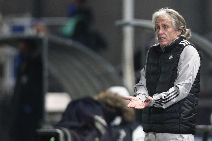 Jorge Jesus treinador do Benfica