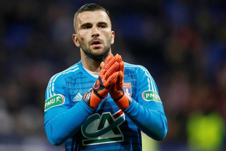 Anthony Lopes representa o Lyon