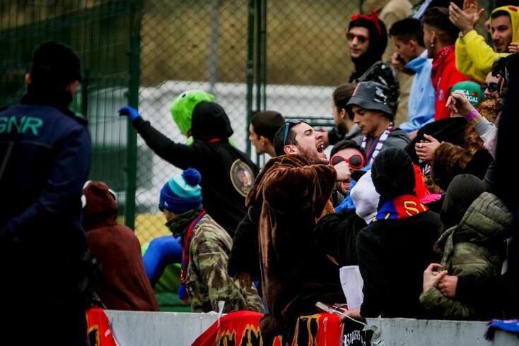 Mafra, 11/02/2018 - Realizou-se esta tarde no Estádio Doutor Mário Silveira em Mafra o jogo do Campeonato